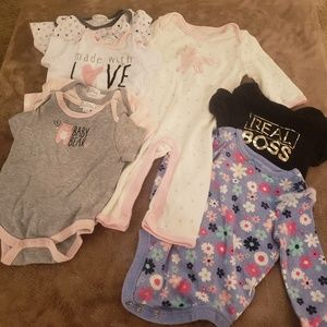 Other - Pack of 7 Girls Onesies